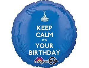"28/А 18"" CALM IT'S YOUR BDAY S40"