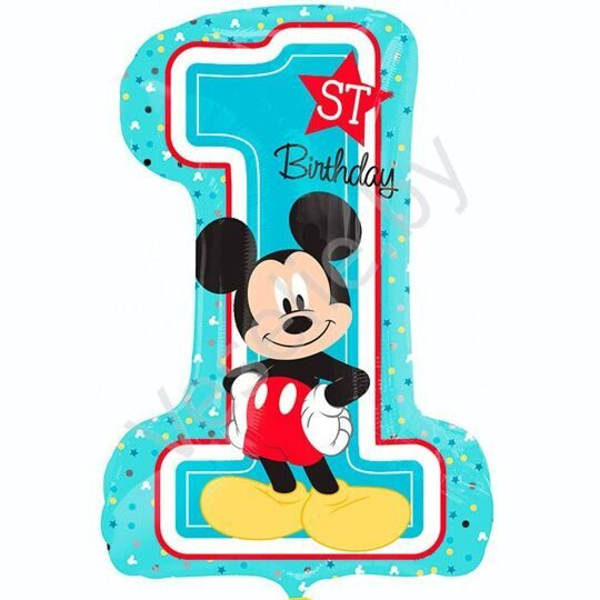8/Микки 1й День рождения / Mickey 1st Birthday S60
